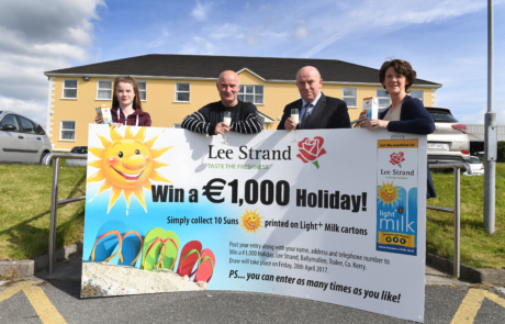 Lee Strand Win €1,000 a holiday 1