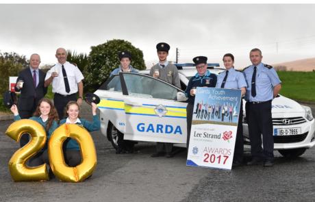 Lee starnd Garda awards launch 2