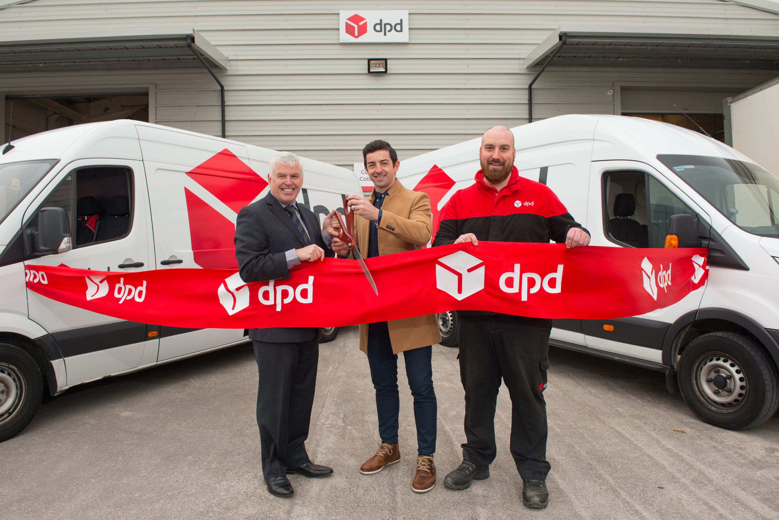 dpd kerry launches new depot in tralee tralee advertiser. Black Bedroom Furniture Sets. Home Design Ideas