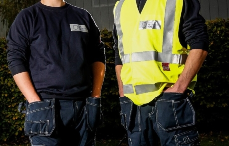 Pictured left to right; Gas Network Ireland Apprentices Tyler Clarke and...