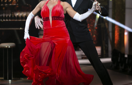 Mairead Ronan and John Nolan during the Fourth live show of Dancing With The Stars . Dancing a Tango to  Pretty Woman  from Pretty Woman.NO FEE FOR REPRO/kobpix