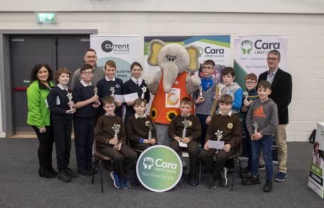 Cara Credit Union U13 winners