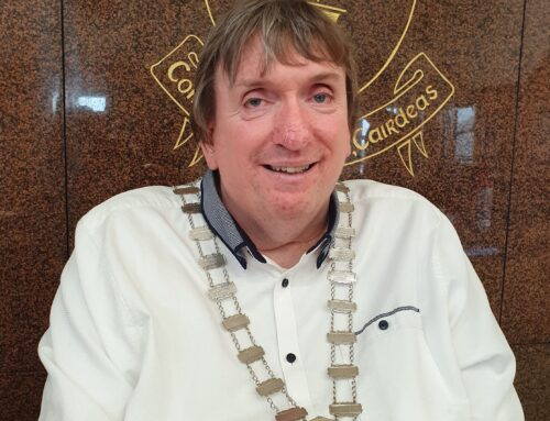 Cllr Terry O'brien Elected Mayor Of Tralee