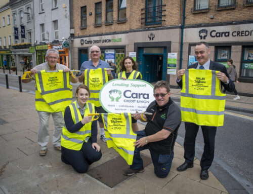 Tralee Tidy Towns and Cara Credit Union  making Tralee a great place to live, work & visit
